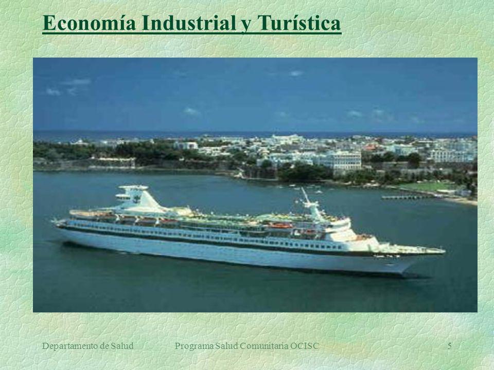 Departamento de SaludPrograma Salud Comunitaria OCISC5 Economía Industrial y Turística