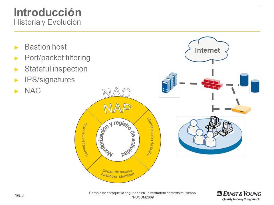 PROCOM2009 Cambio de enfoque: la seguridad en un verdadero contexto multicapa Pág.