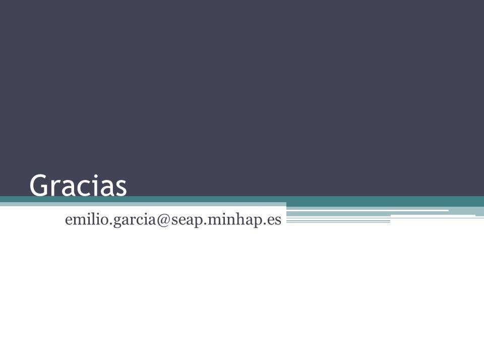 Gracias emilio.garcia@seap.minhap.es