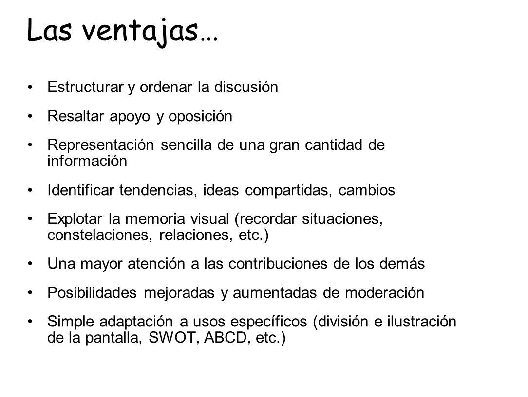 Conocimiento (aprendizaje curricular) y otras habilidades Construcción colaborativa de conocimiento 0 Generación de habilidades: Argumentación Expresión escrita Síntesis; claridad Consideración de otras opiniones Cultura de discusión Colaboración