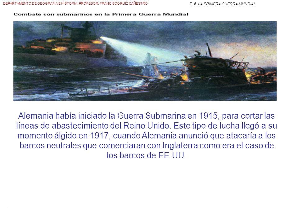 Frente Occidental Intentos de romper el frente Auténticas carnicerías Italia se une a los aliados (tratado de Londres) Se abre el frente alpino entre