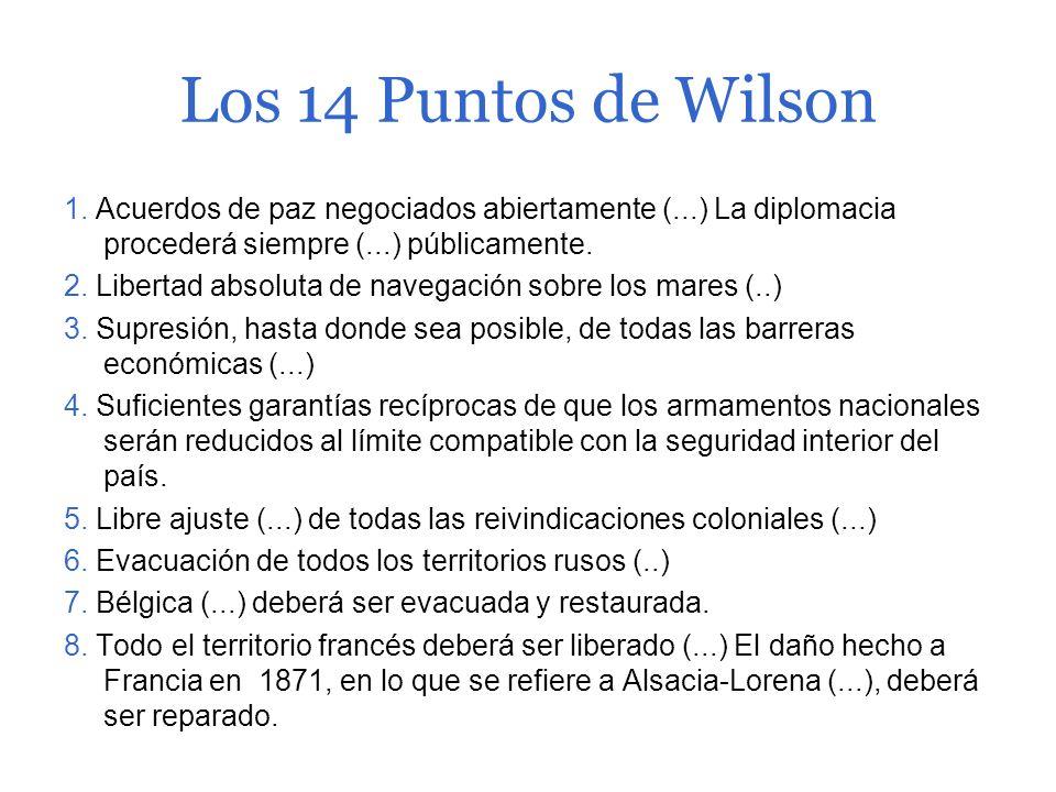 Thomas Woodrow Wilson (1856-1924) Hijo de un severo pastor presbiteriano. Nominado como candidato demócrata a las elecciones presidenciales de 1912, i