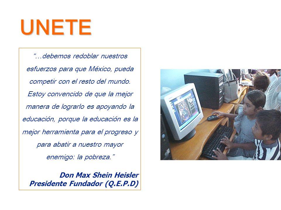 Nuestra Misión mediante el uso de nuevas tecnologías en escuelas públicas.