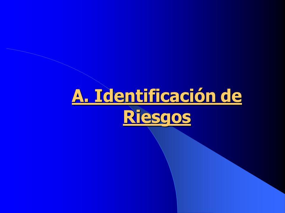 A. Identificación de Riesgos