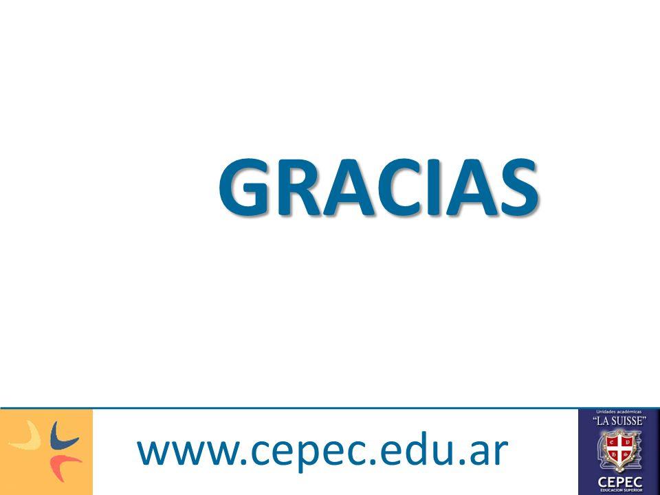 GRACIAS www.cepec.edu.ar