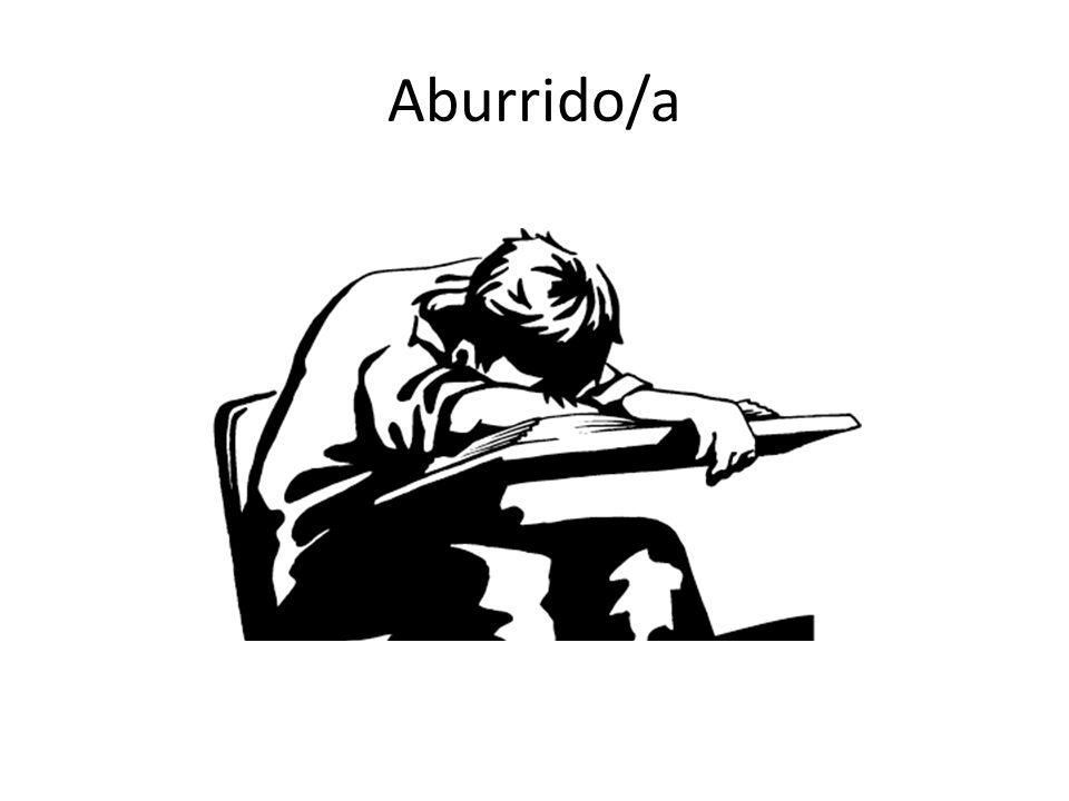 Aburrido/a