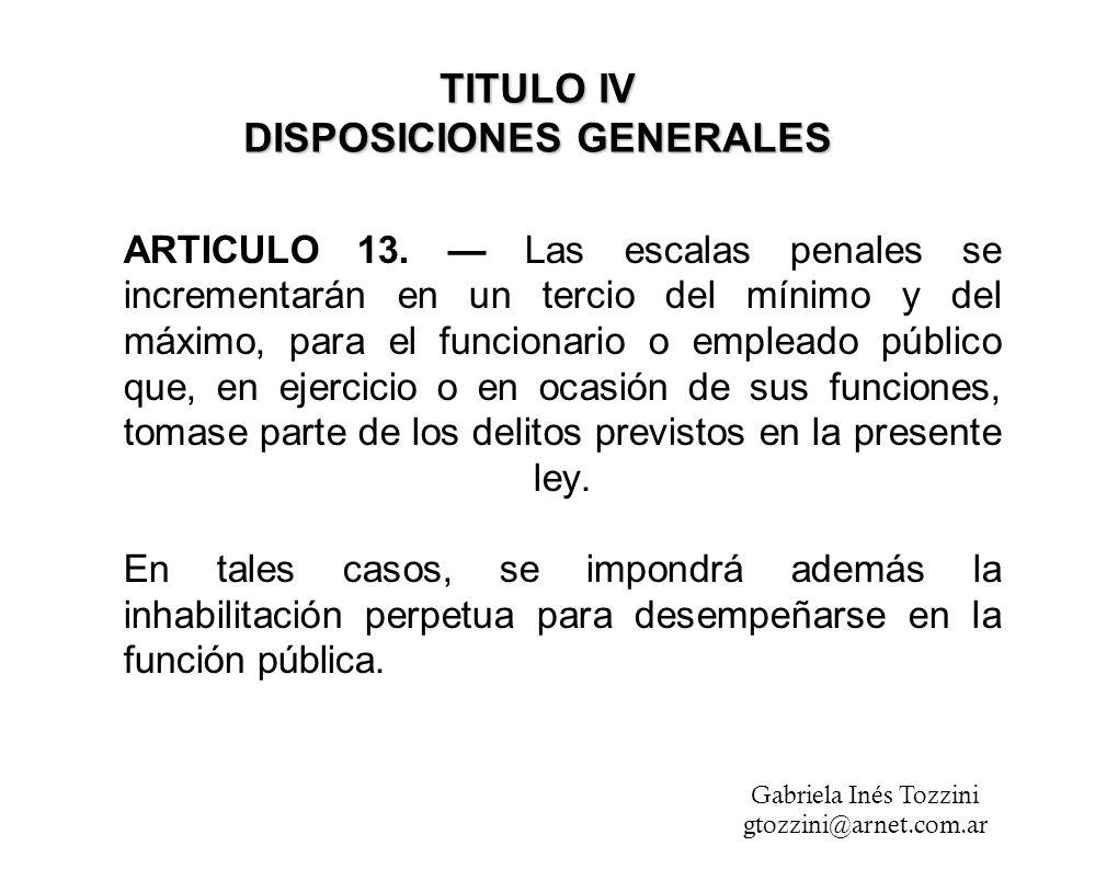 ARTICULO 13.