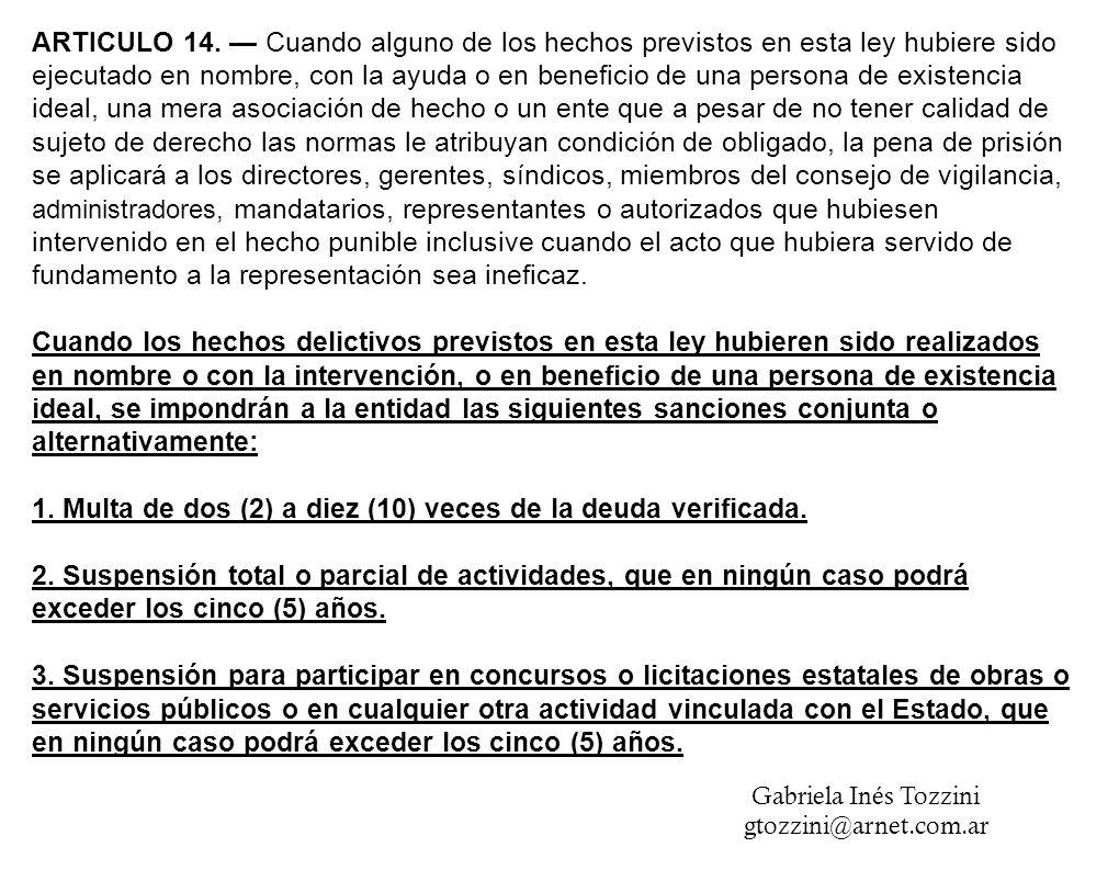 ARTICULO 14.