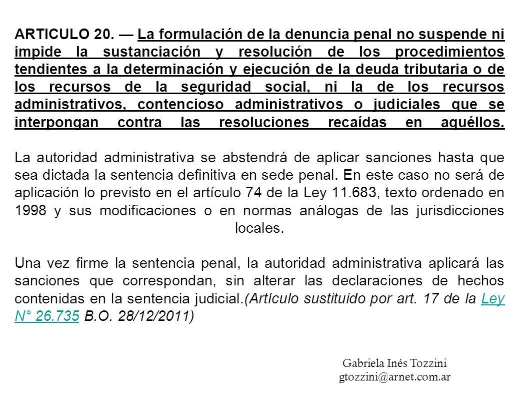 ARTICULO 20.