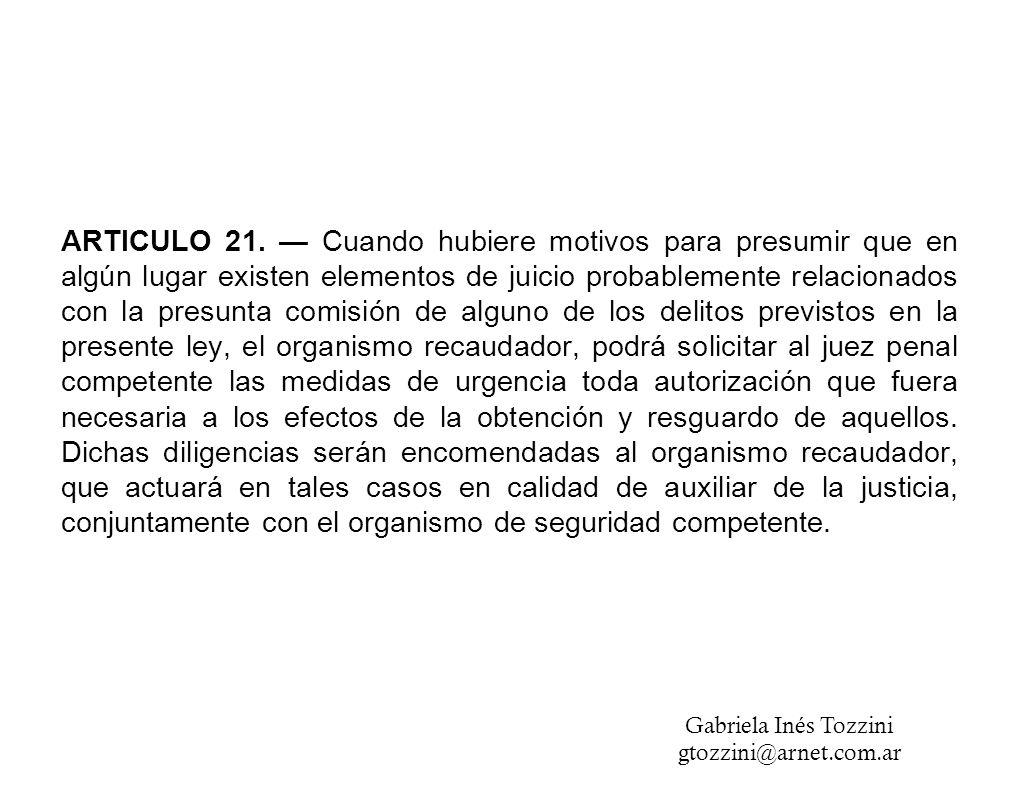 ARTICULO 21.