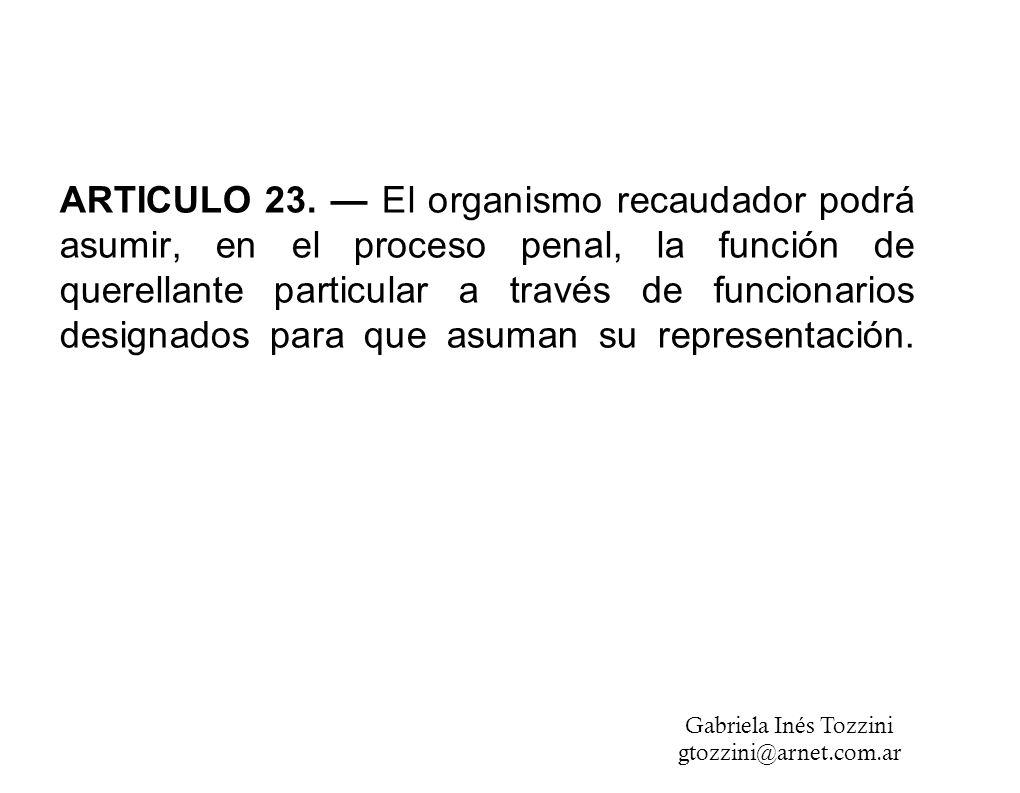 ARTICULO 23.