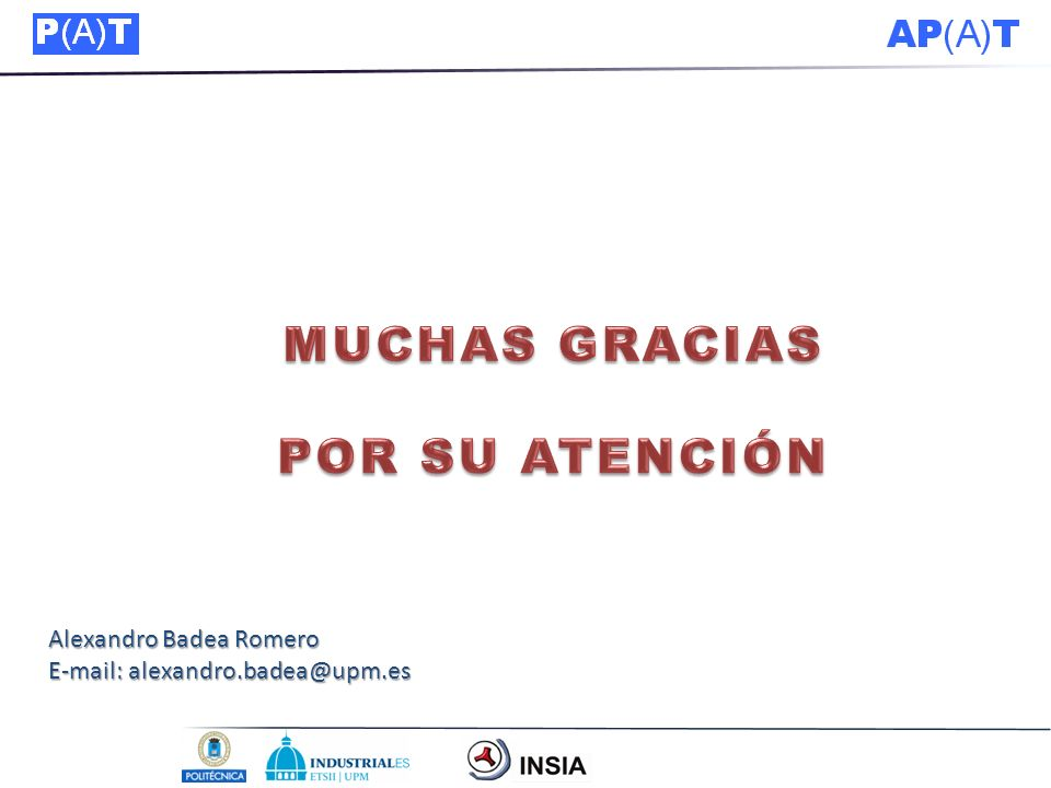 Alexandro Badea Romero E-mail: alexandro.badea@upm.es