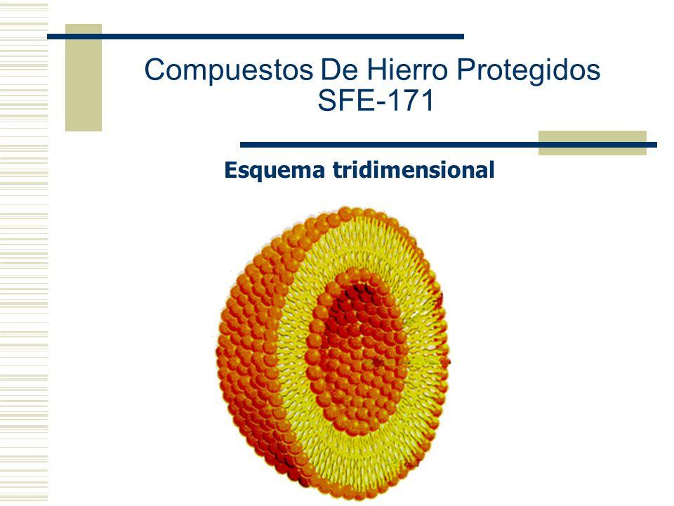 Esquema tridimensional Compuestos De Hierro Protegidos SFE-171