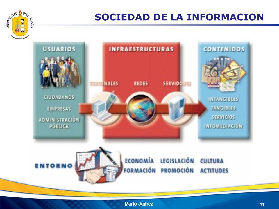 Mario Juárez 11 SOCIEDAD DE LA INFORMACION