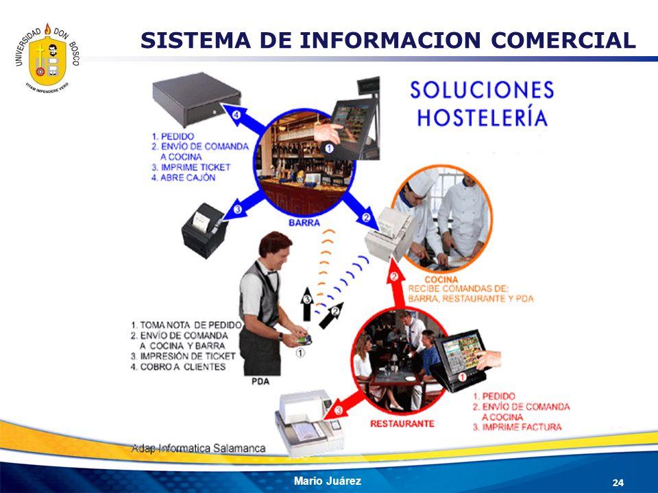 Mario Juárez 24 SISTEMA DE INFORMACION COMERCIAL