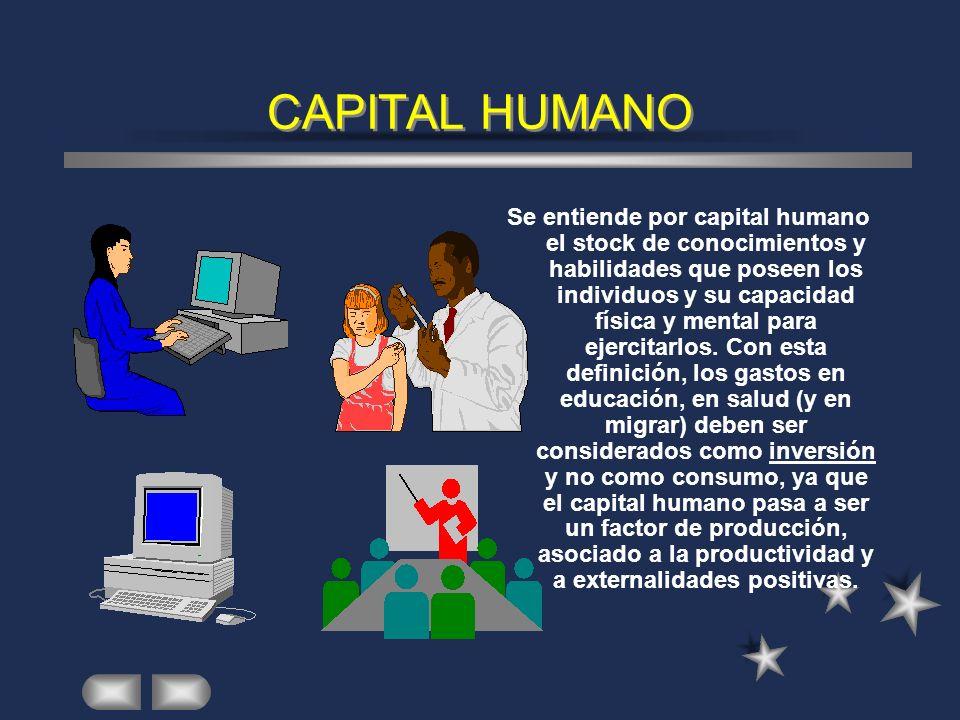 CAPITAL PSICOSOCIAL El capital psicosocial está configurado por un conjunto de factores subjetivos que condicionan la transformación del pensamiento e