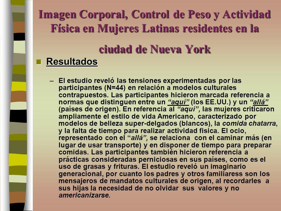investigacion control peso: