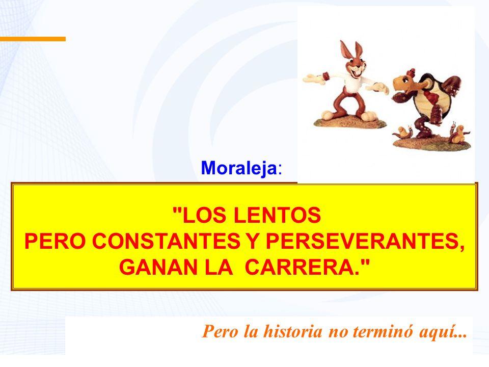 TODOS TENEMOS CARRERAS POR DELANTE, Y HAY MUCHAS MANERAS DE GANARLAS...