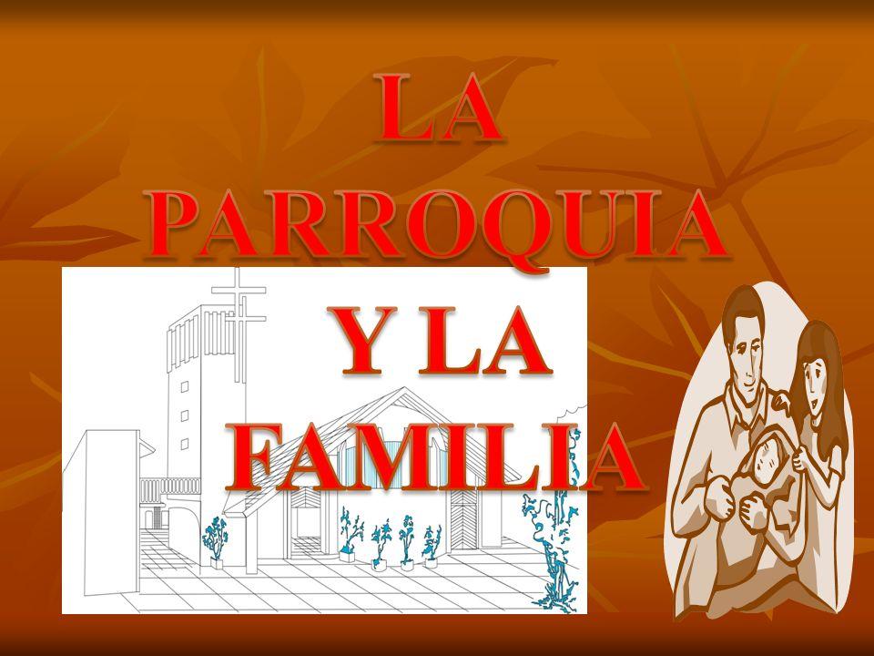 REFLEXIÓN Y COMPROMISO 1.¿Cómo ayuda nuestra comunidad parroquial a las familias ya constituidas.