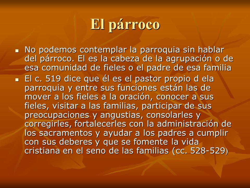 Parroquia y Familia -La parroquia es un hogar.