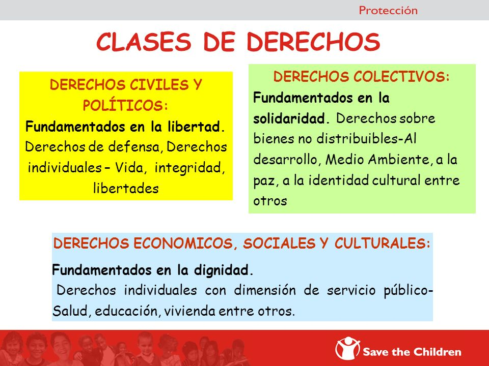DERECHOS ECONOMICOS, SOCIALES Y CULTURALES: Fundamentados en la dignidad. Derechos individuales con dimensión de servicio público- Salud, educación, v