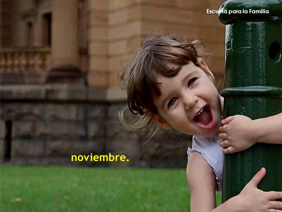 Escuela para la Familia noviembre.