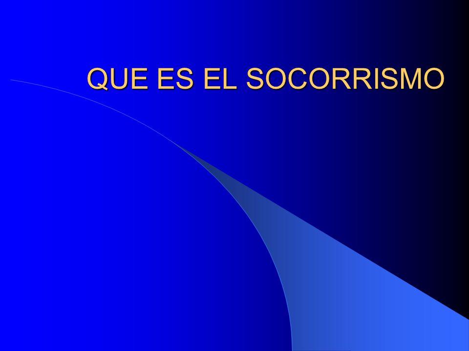 QUE ES EL SOCORRISMO