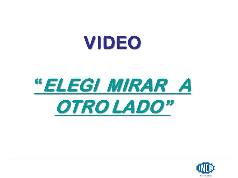 VIDEOELEGI MIRAR A OTRO LADO ELEGI MIRAR A OTRO LADO ELEGI MIRAR A OTRO LADO
