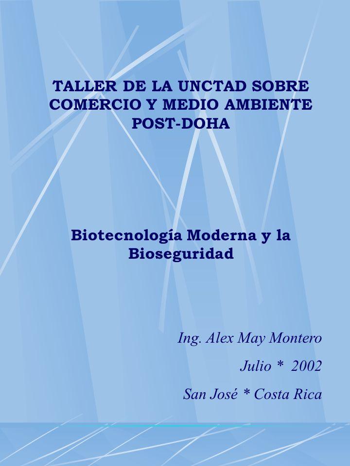 LEGISLACION REGIONAL Protocolo Centroamericano sobre la Seguridad de la Biotecnologia Moderna o de Bioseguridad.