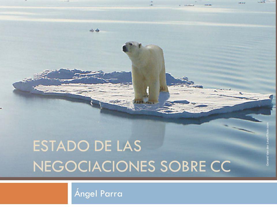 Ángel Parra ESTADO DE LAS NEGOCIACIONES SOBRE CC