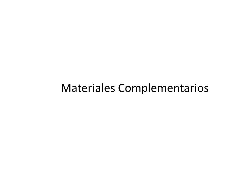 Materiales Complementarios