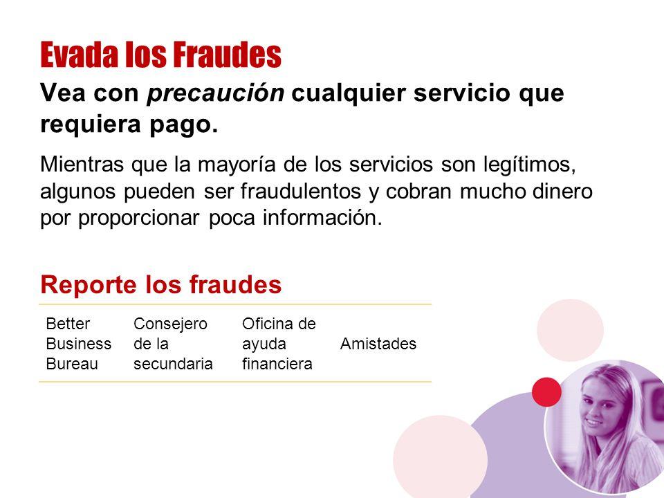 Mientras que la mayoría de los servicios son legítimos, algunos pueden ser fraudulentos y cobran mucho dinero por proporcionar poca información.