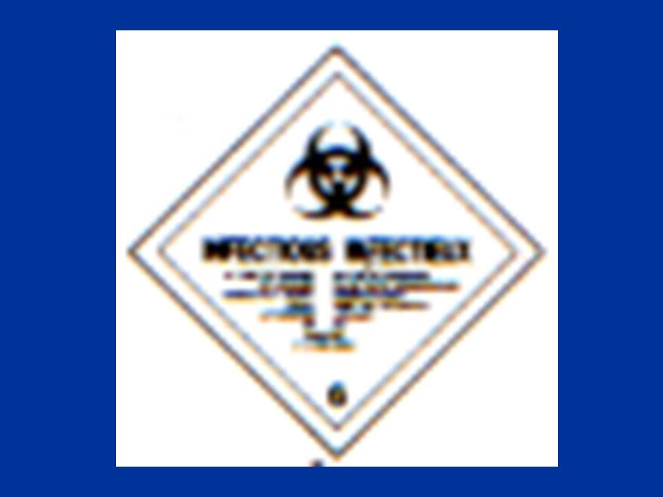 CLASE 6 SUSTANCIAS VENENOSAS E INFECCIOSAS DIVISIÓN 6.2 SUSTANCIAS INFECCIOSAS SON AQUELLAS QUE CONTIENEN MICROORGANISMOS VIABLES O TOXINAS DE LOS QUE