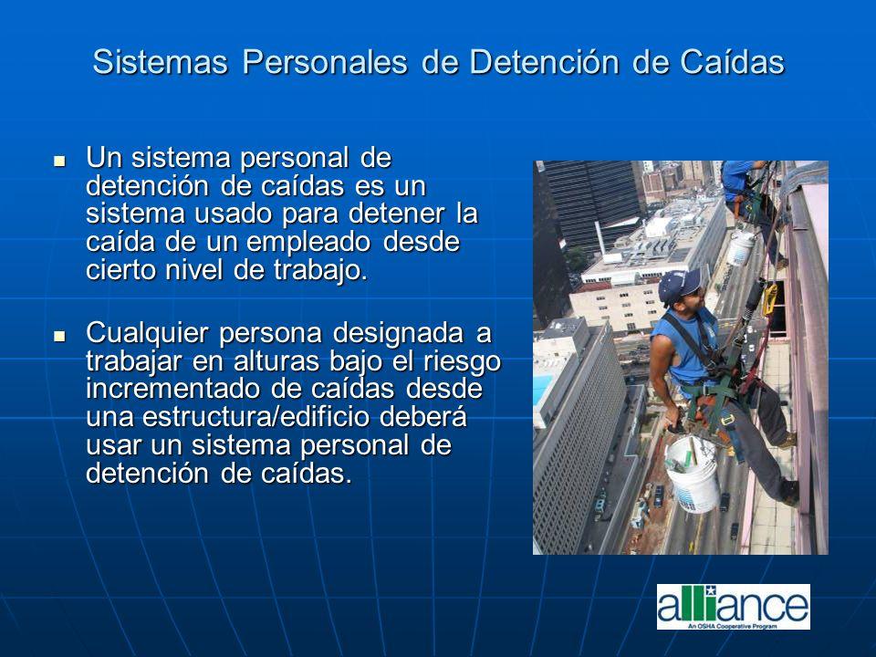 Un sistema personal de detención de caídas es un sistema usado para detener la caída de un empleado desde cierto nivel de trabajo. Un sistema personal