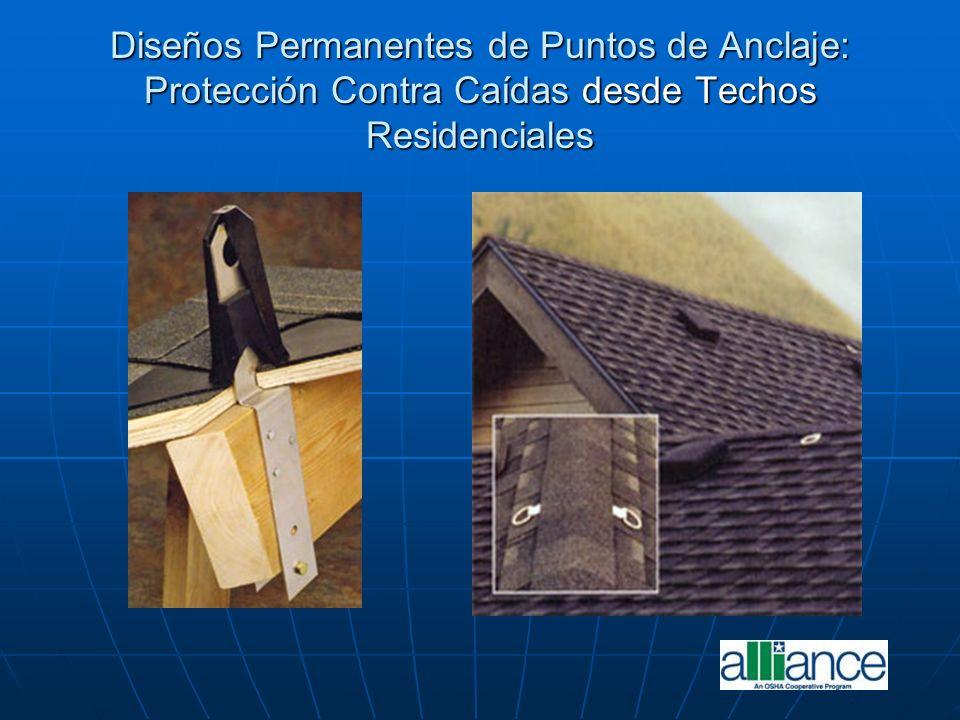 Diseños Permanentes de Puntos de Anclaje: Protección Contra Caídas desde Techos Residenciales