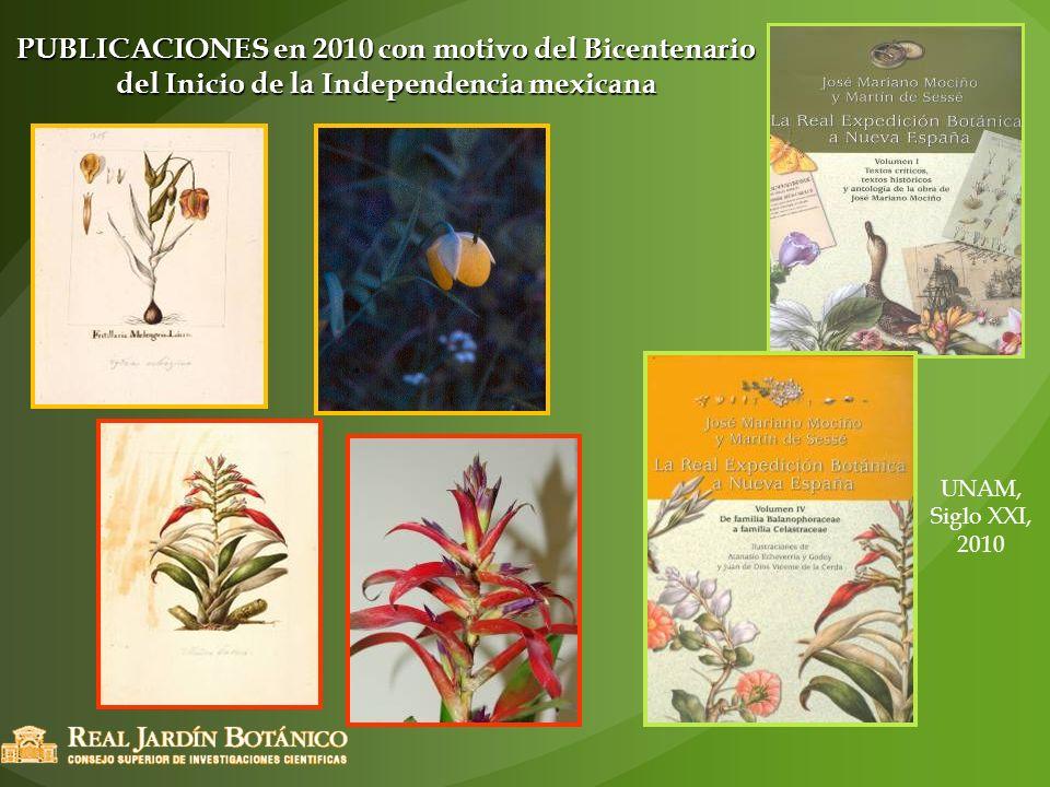UNAM, Siglo XXI, 2010 PUBLICACIONES en 2010 con motivo del Bicentenario del Inicio de la Independencia mexicana