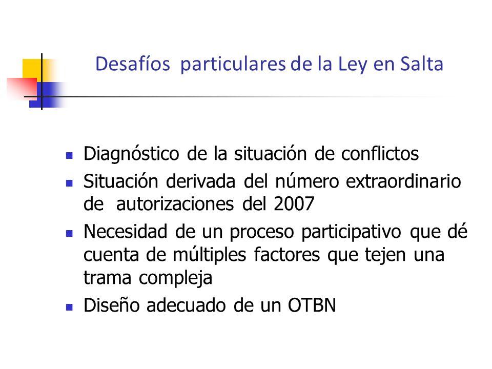 Diagnóstico de la situación de conflictos Situación derivada del número extraordinario de autorizaciones del 2007 Necesidad de un proceso participativ
