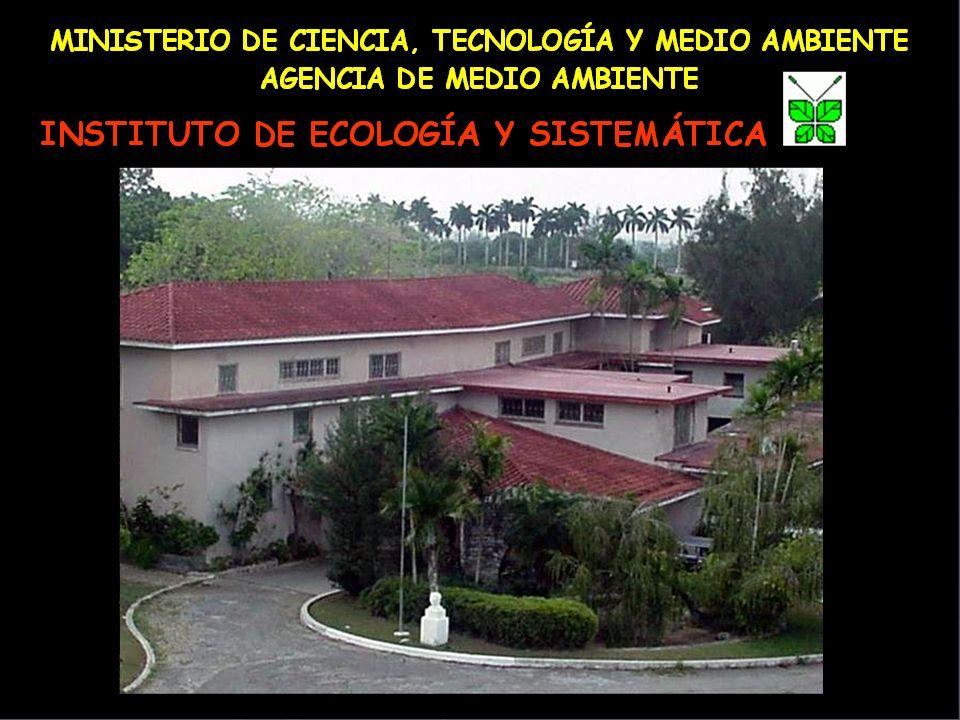 Fundado en 1986 por la fusión de los Institutos de Botánica, Zoología, Química y Biología Experimental de la Academia de Ciencias de Cuba The Institute of Ecology and Systematic was founded in 1986 by the fusión of the Institutes of Botany, Zoology and a part of the Institute of Chemistry and Experimental Biology.