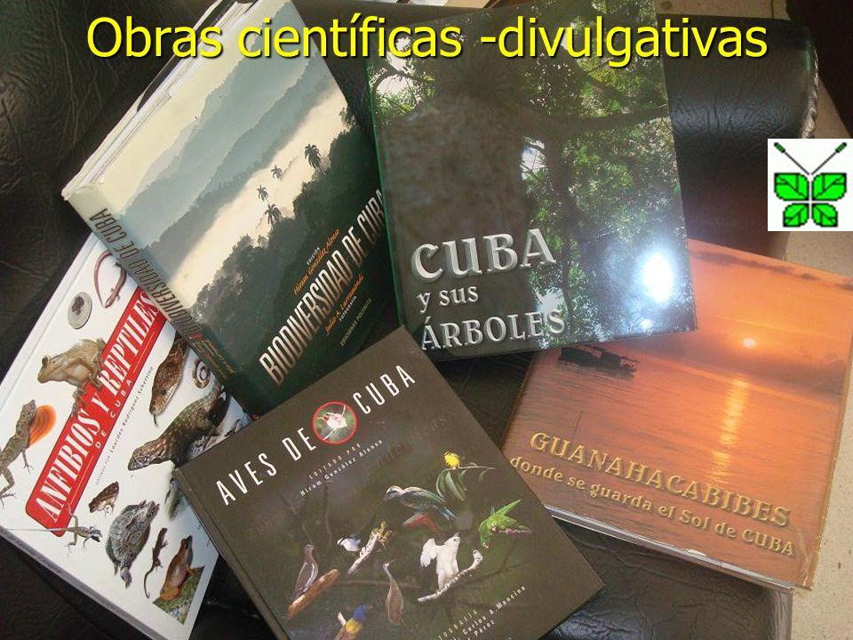 Obras científicas -divulgativas