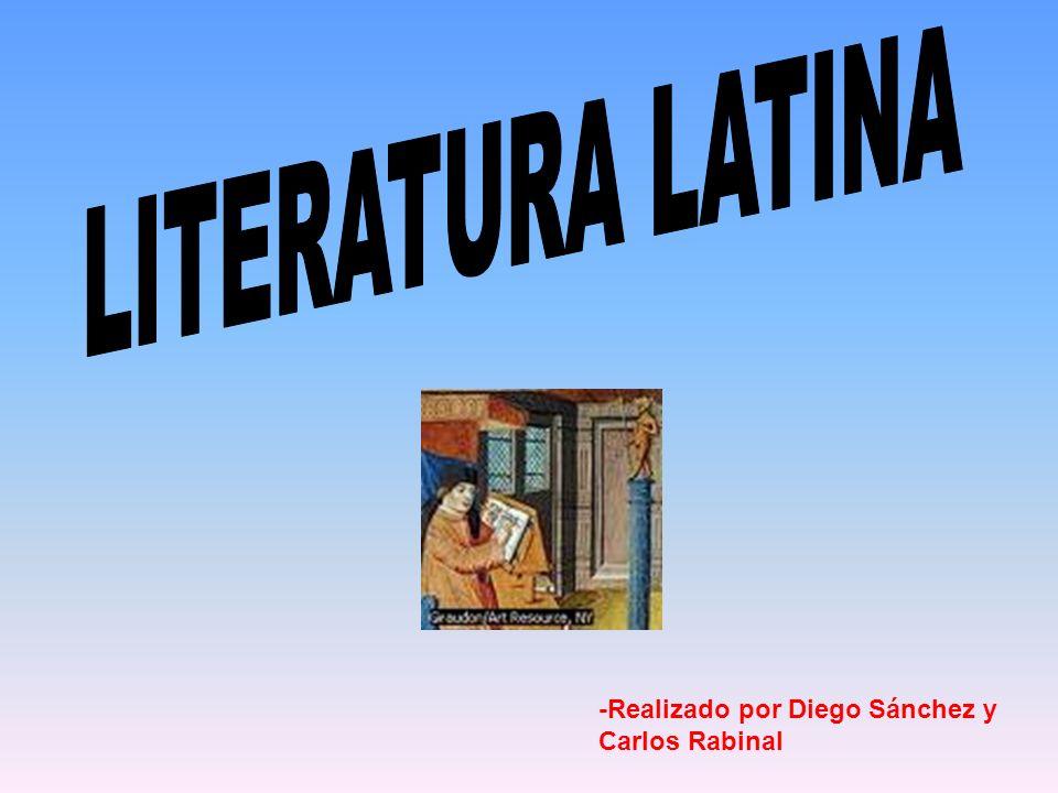 Lírica Latina Épica Latina Prosa Latina Homero y Hesiodo ¿Cuándo comienza la literatura griega.