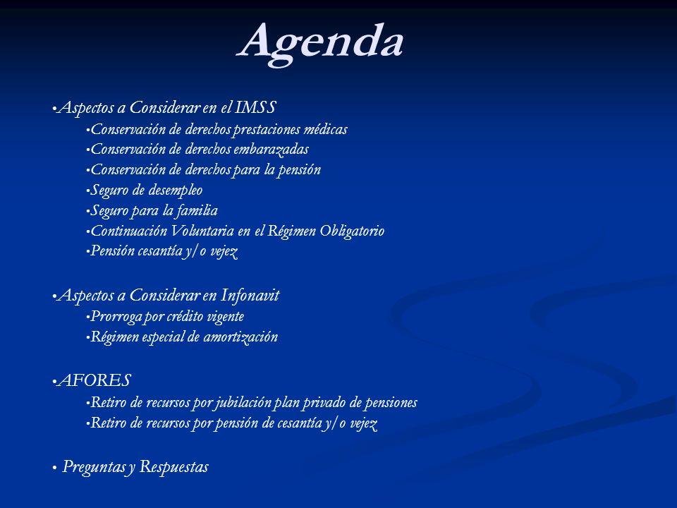 Asesoría en Beneficios IMSS, INFONAVIT, AFORES