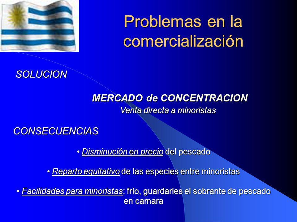 Problemas en la comercialización PROBLEMÁTICA INTERMEDIACION INTERMEDIACION Por falta de canales adecuados de distribución Por falta de canales adecua