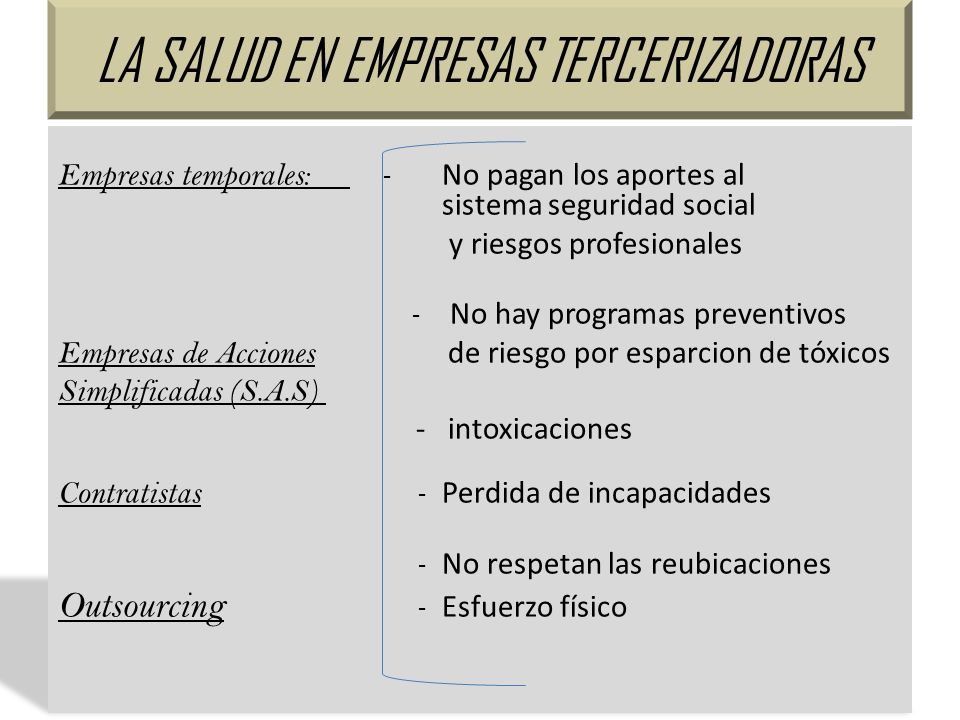Derechos Vulnerados Empresas No realizan los aportes a las A.R.P Y E.P.S E.P.S No son atendidos porque no aparecen en el sistema como cotizantes Empresa, E.P.S, A.R.P Violación de la Constitución Política de Colombia A.