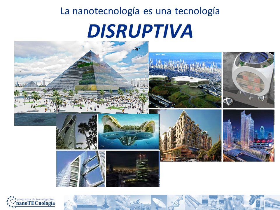 La nanotecnología es una tecnología DISRUPTIVA