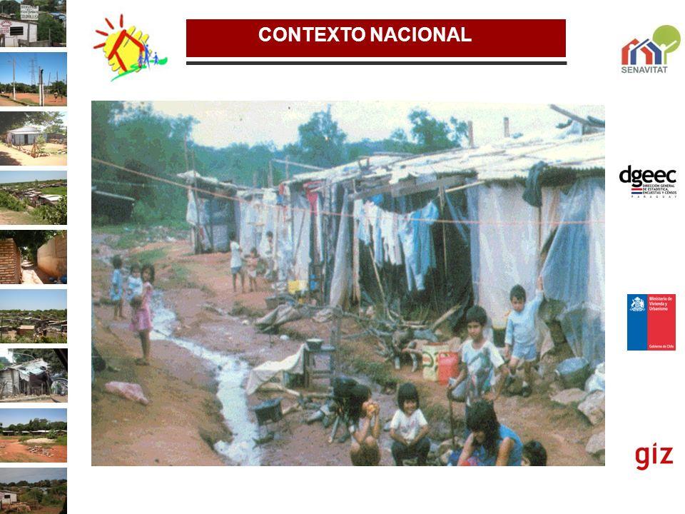 JUSTIFICACIÓN El sector vivienda en Paraguay se encuentra en un proceso de reforma institucional y definición de una nueva política habitacional, cuyo objetivo es, entre otros, contribuir al combate a la pobreza y avanzar en la equidad social del país.