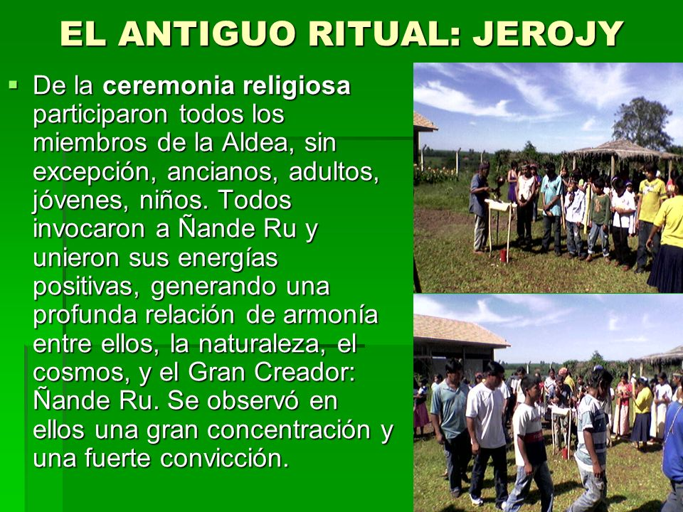 LOS AVA GUARANI Y LA VIDA PERFECTA-TEKOKATU Los Ava Guarani, Avakatu o Avakatuete (ete es superlativo), es decir, personas perfectas viven en el Alto