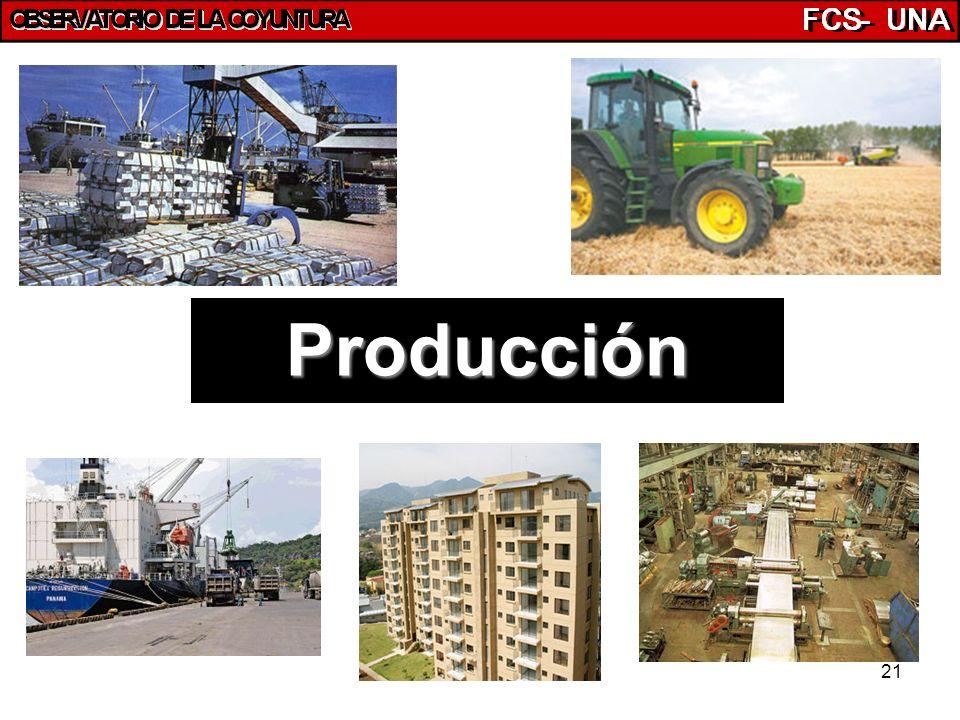 21 Producción