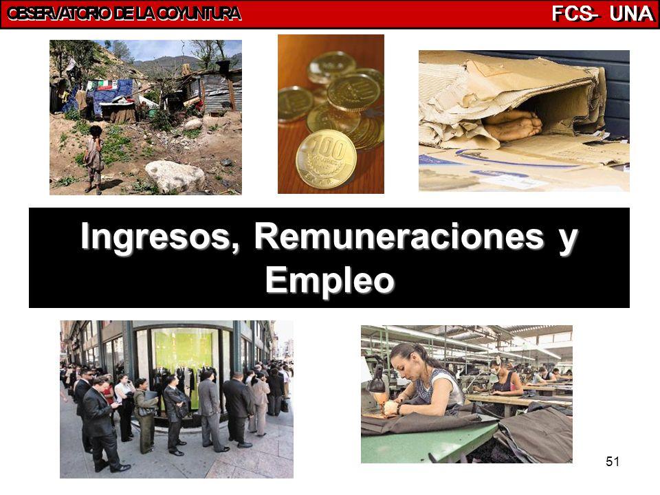 51 Ingresos, Remuneraciones y Empleo