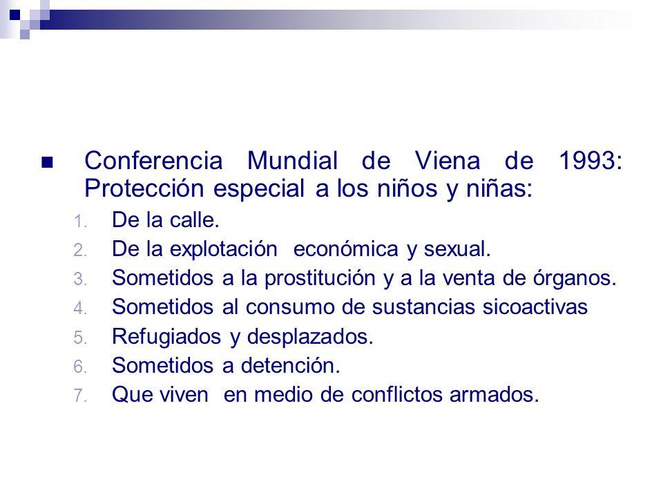 Derechos de la Niñez La niñez como eje del desarrollo social, cultural y político del país.