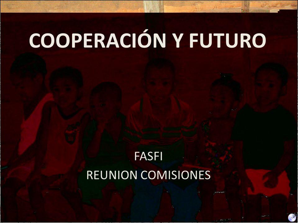 La cooperación es el resurgimiento de una nueva convicción la de la dignidad y el valor de la vida Ser cooperante, es sentir pasión por la vida En el Norte, será arropar todos los beneficios sociales.